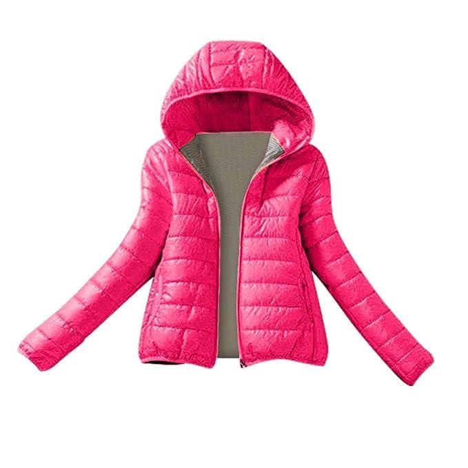 Amazon.com: VESNIBA - Chaqueta con capucha para mujer ...