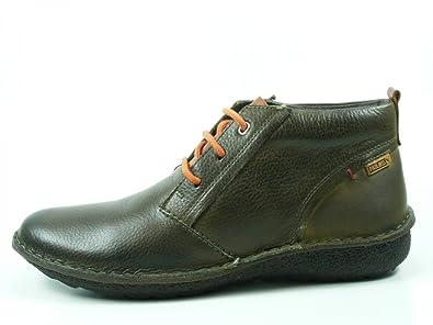 Pikolinos 01G-5056NGC2 Chile Botas con cordones de cuero para hombre: Amazon.es: Zapatos y complementos