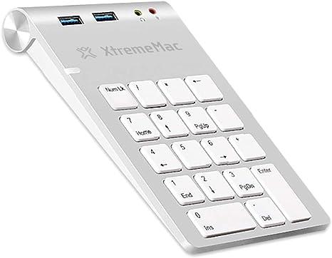 Teclado numérico XtremeMac Ultrafino con Teclado numérico ...