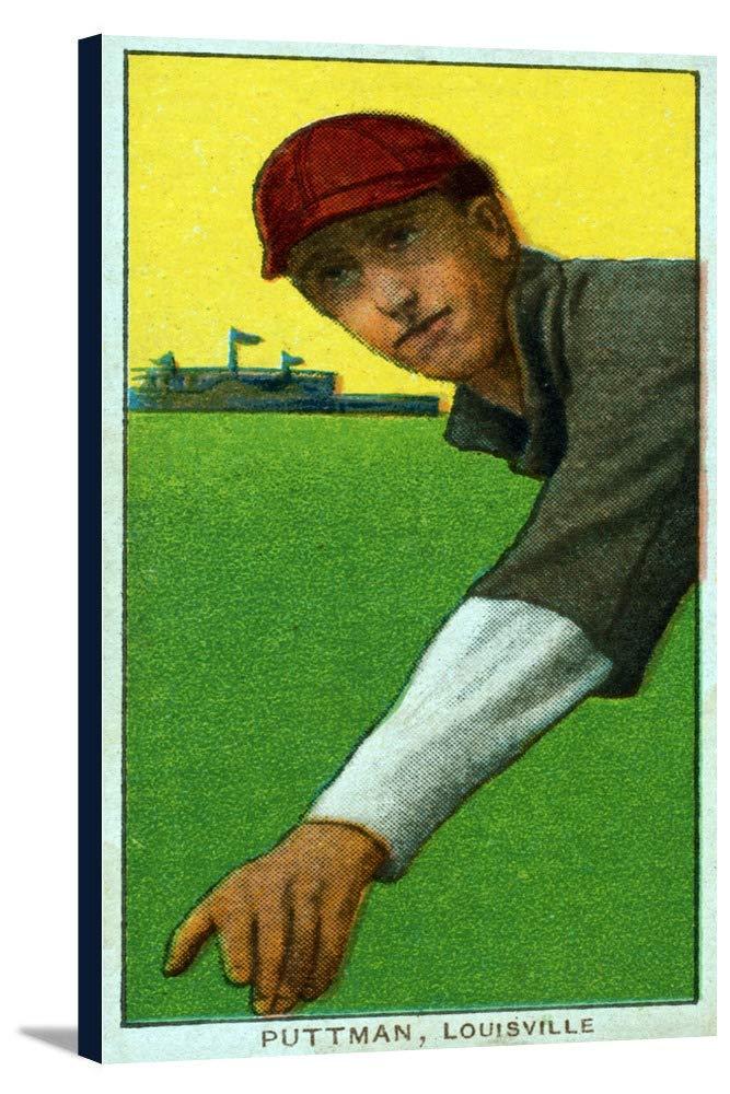 Louisville Minor League – Puttman – 野球カード 19 x 36 Gallery Canvas LANT-3P-SC-23401-24x36 B0184AF0X4  19 x 36 Gallery Canvas