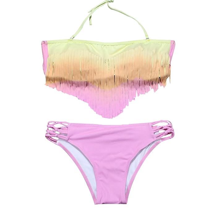 d8aebe09858e Très Chic Mailanda Costumi Interi da Bagno Mare e Piscina Bikini Sexy Nappa Donna  Coordinati Bikini Retro M: Amazon.it: Abbigliamento