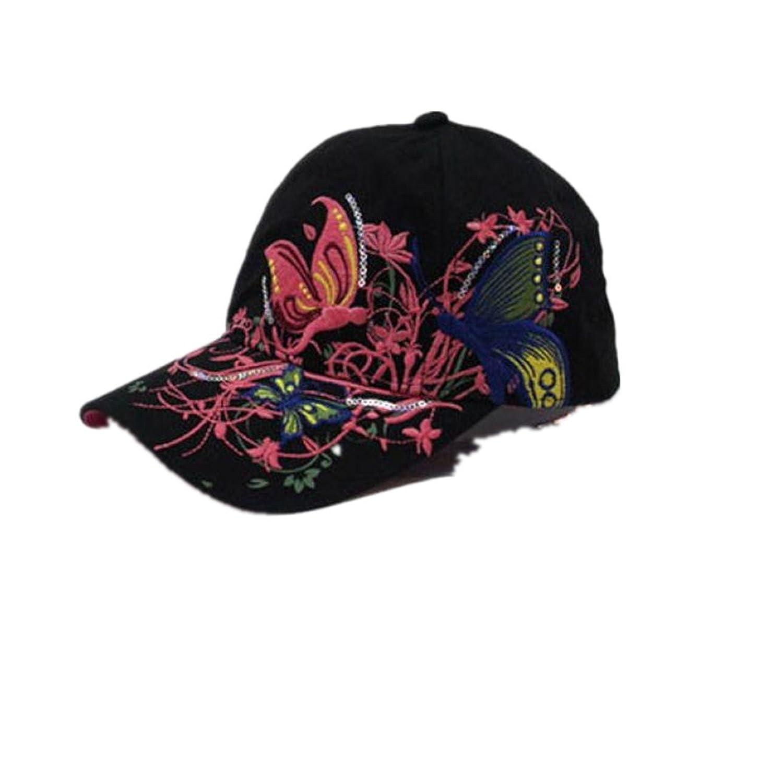 Unisex Baseball Kappe DDLBiz® Baseball Hat Cap Schmetterlinge Sport Hut