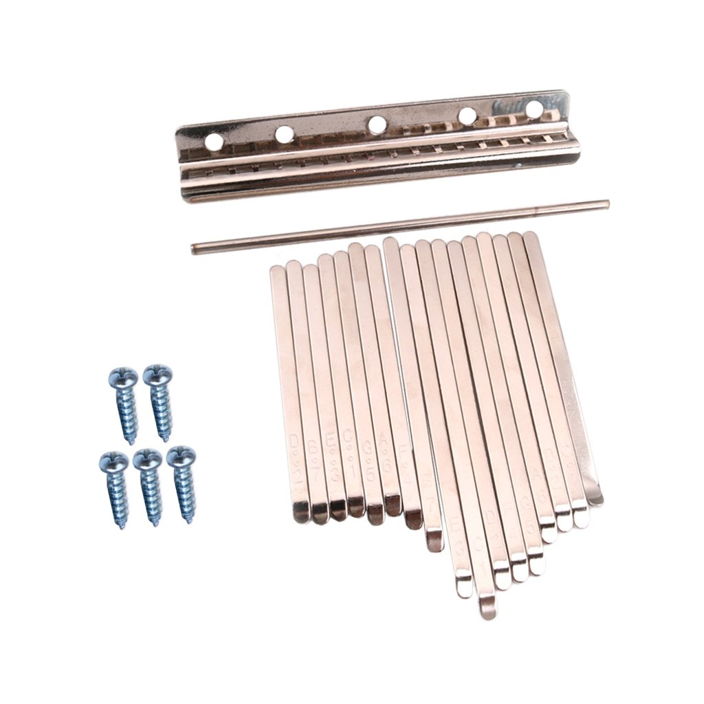 MagiDeal Steel Keys for 17 Note Kalimba African Mbira Thumb Piano Finger Percussion non-brand 0755035070018DEA