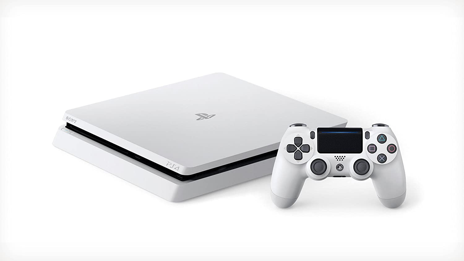 PlayStation 4 Slim (PS4) - Consola de 500 GB, Color Blanco: Amazon.es: Videojuegos