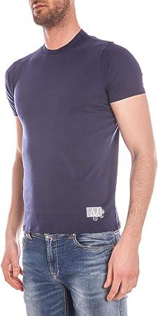 ARMANI JEANS AJ - Camiseta Hombre C6H18FF Azul XXL