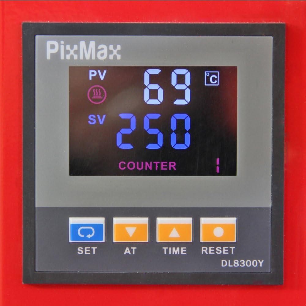 PixMax Prensa de Calor Maquina de Prensa de Calor Máquina de la ...