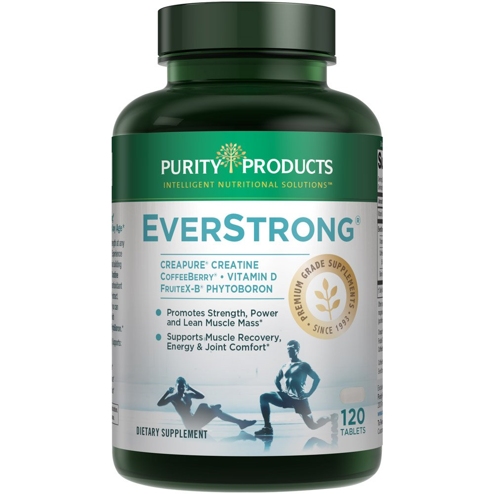 EverStrong Creatine Formula, New & Improved - 120 Tablets from Purity Products