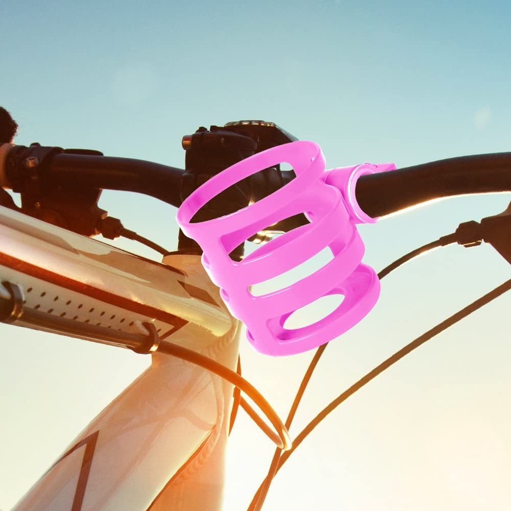 Hinmay ajustable Portabid/ón de pl/ástico para bicicleta para manillar o bicicleta de monta/ña ligero