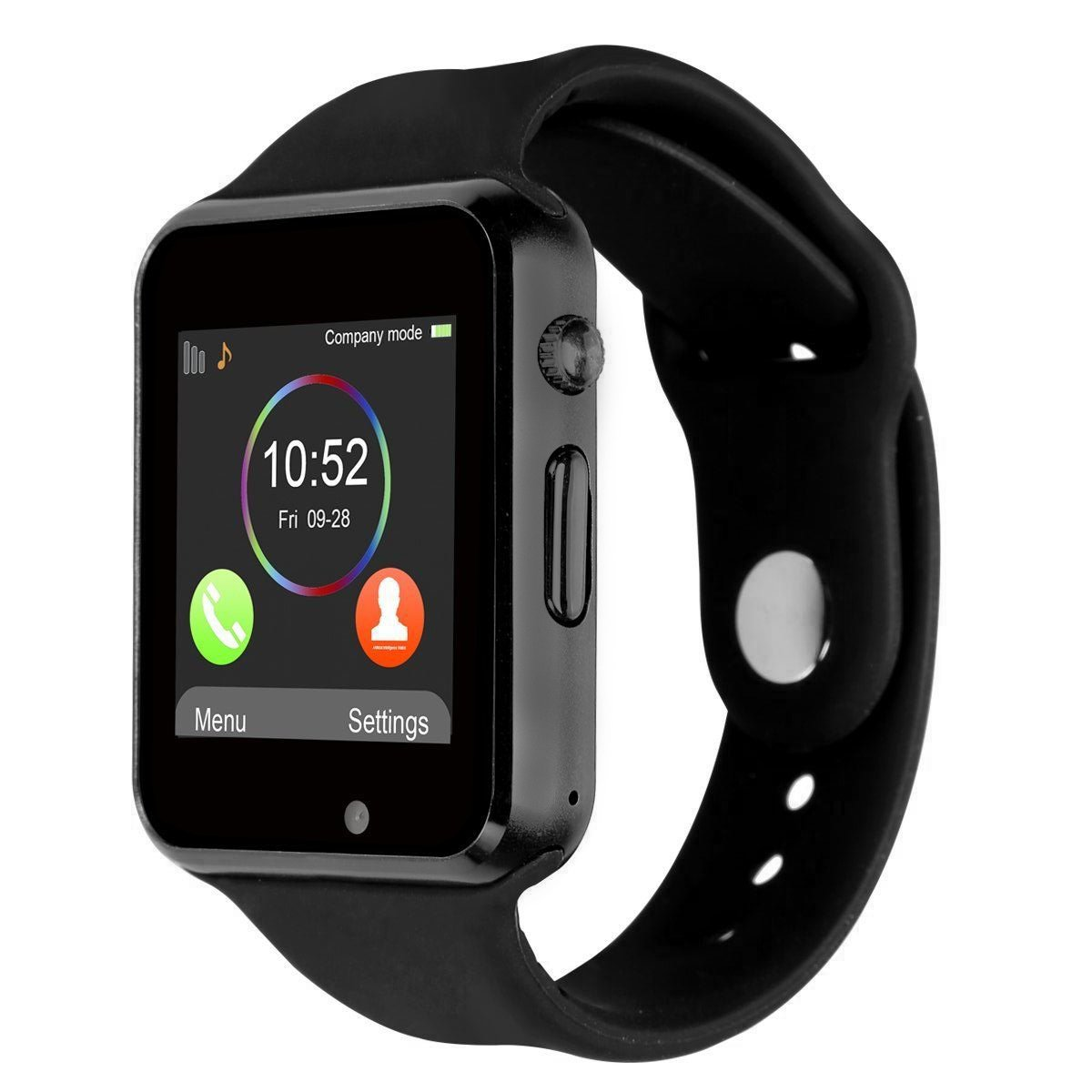 Smartwatch Bluetooth Correa suave CHEREEKI Reloj de pulsera deportivo con pantalla táctil