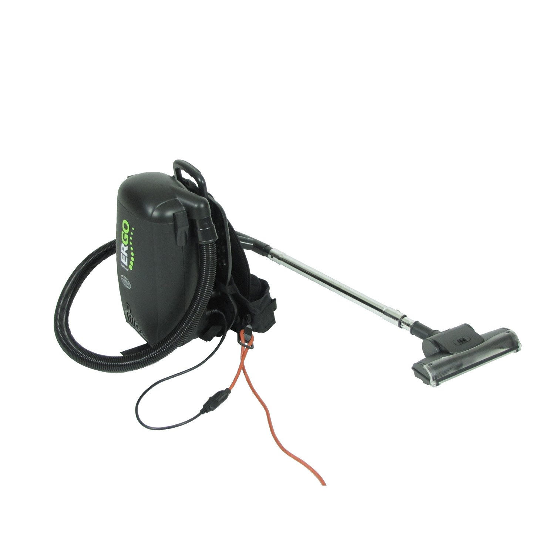 Atrix - VACBP1 HEPA Backpack Vacuum Corded 8 Quart HEPA Bag 4 Level Filtration Attachments by Atrix