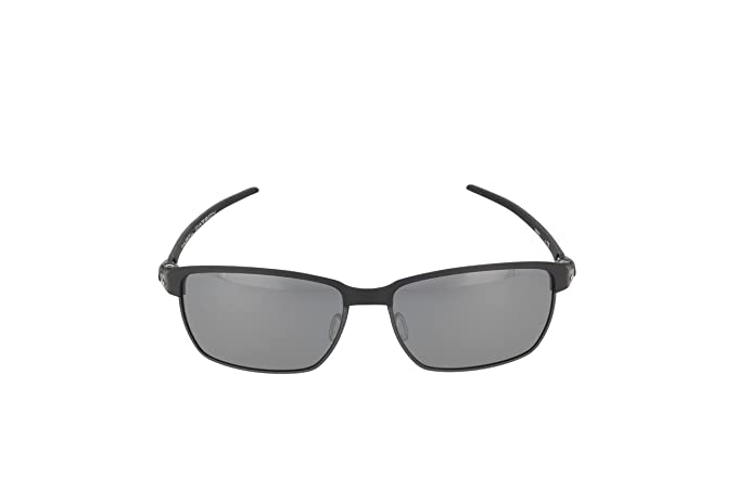 Amazon.com: Oakley Mens Tinfoil Carbon Polarized Iridium Rectangular Sunglasses, Satin Black, 58 mm: Oakley: Clothing