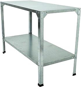 Palram Steel Work Bench, Silver