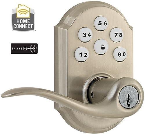 Kwikset 912TNL-ZW Tustin Electronic Keyless Keypad Door Lever Set
