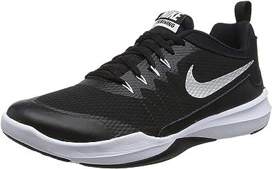Nike Legend Trainer, Zapatillas para Hombre, Negro (Black/Metallic Silver/White 001), 39 EU: Amazon.es: Zapatos y complementos