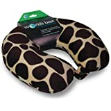 World's Best Feather Soft Microfiber Neck Pillow, Giraffe