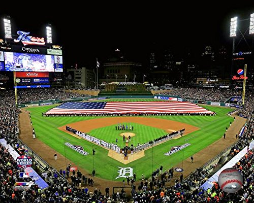 Detroit Tigers Comerica Park MLB Stadium Photo (Size: 8