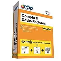 EBP Compta & Devis-Factures Dynamic 12 mois 2017 + VIP