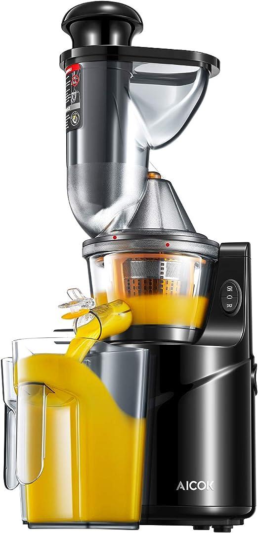Aicok Cortador y exprimidor, incluye una jarra para zumo y cepillo ...