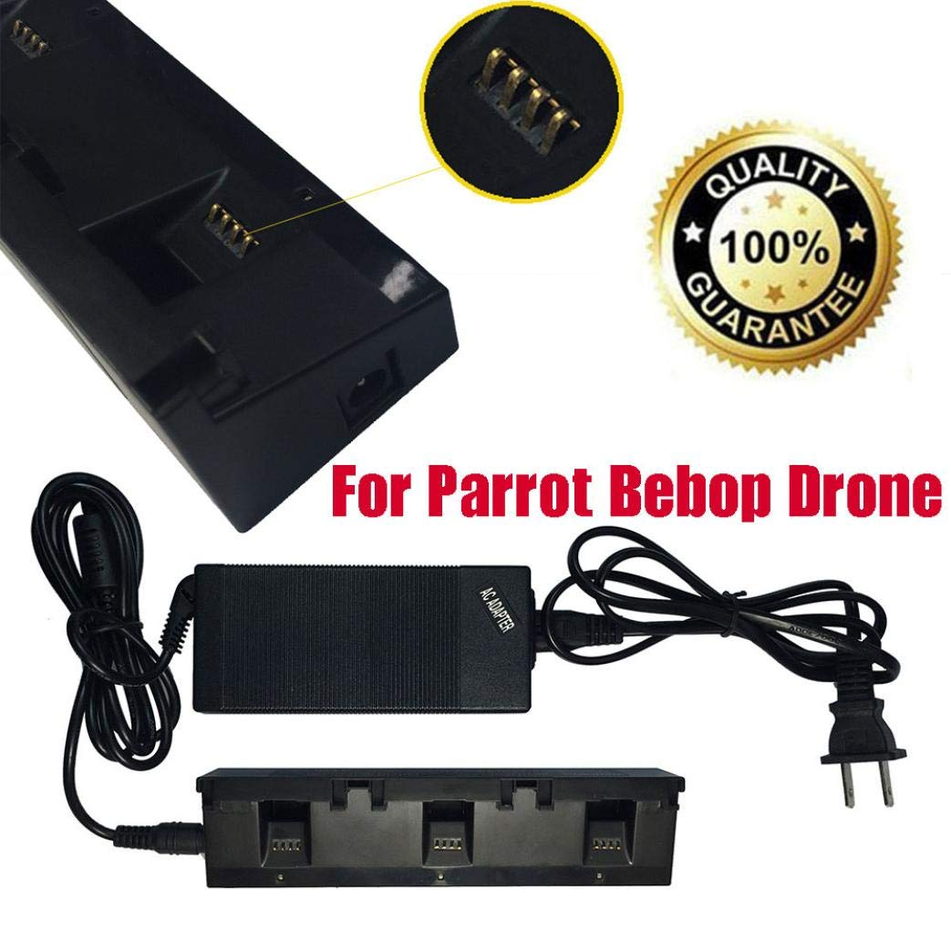 3 In 1 Super Fast Charger Adapter Balanced Battery For Parrot Bebop Drone/FPV