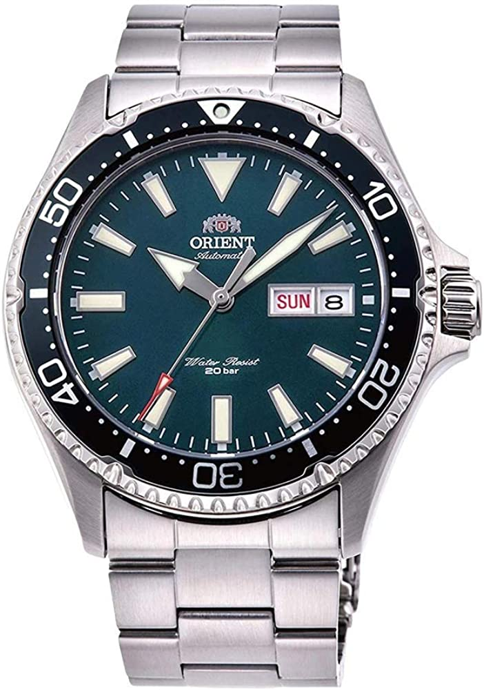 Orient Reloj Analógico para Unisex Adultos de Automático con Correa en Acero Inoxidable RA-AA0004E19B