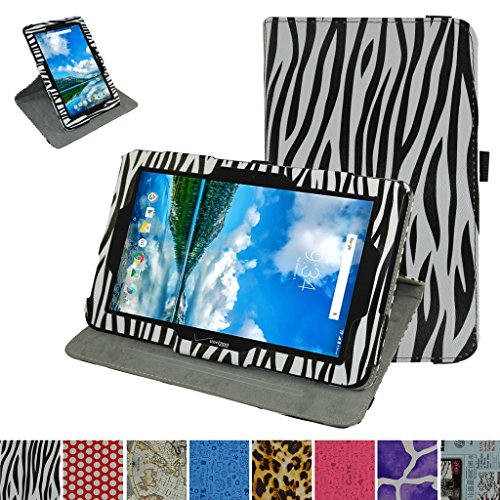 Verizon Ellipsis 10 Rotating Case,Mama Mouth 360 Degree Rotary Stand with Cute Cover for 10.1