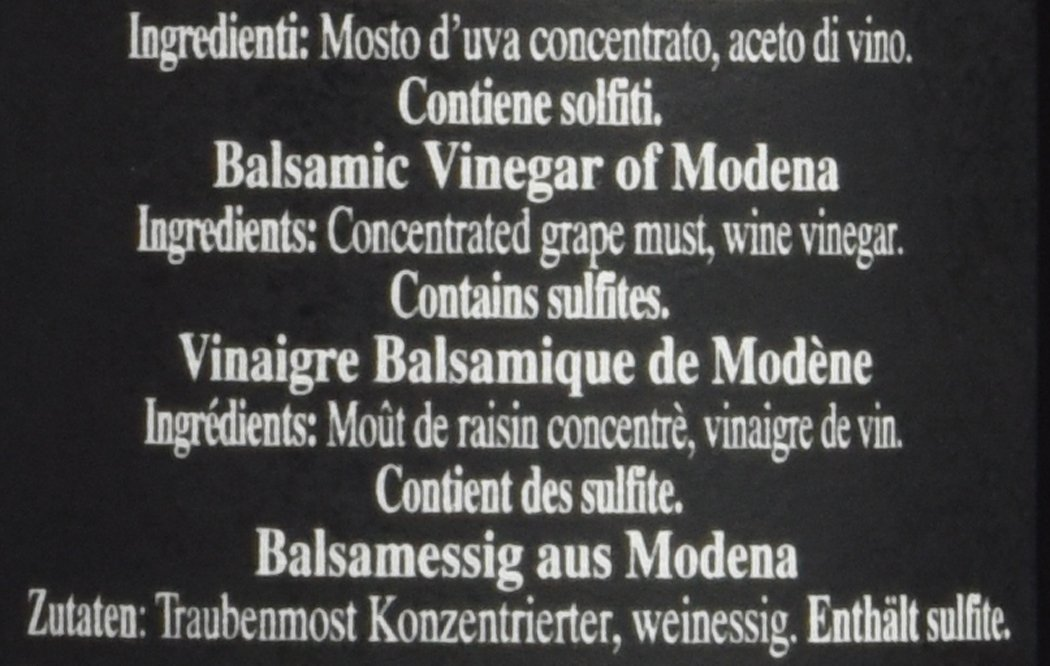 Fattoria Estense Balsamic Vinegar Gold Label, 8.5 Fluid Ounce