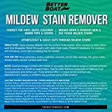 Better Boat Mildew Stain Remover Cleaner Seats
