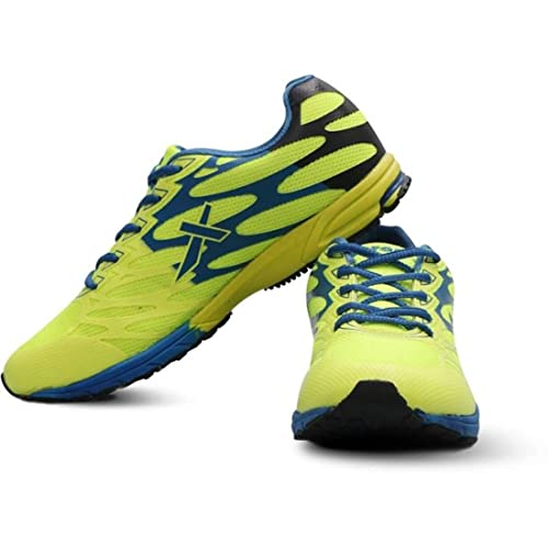 Vector X RS-7010 Running Shoes (Green) (8): Buy Online at