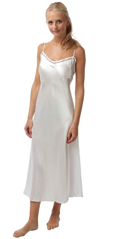 Bhs Ladies Womens New Long Satin Lightweight Nightwear Nightdress ...