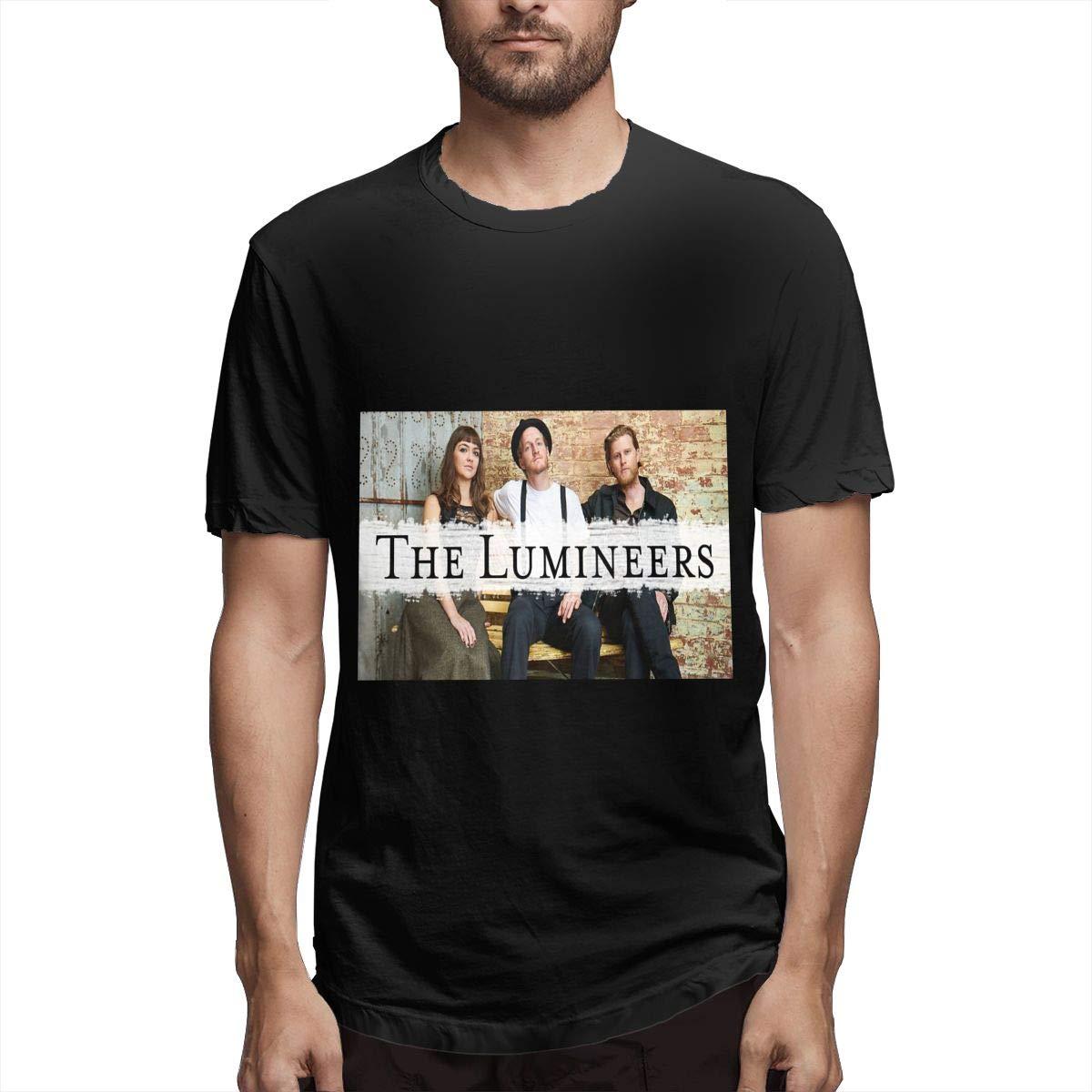 Lihehen S The Lumineers Retro Printing Round Neck T Shirts