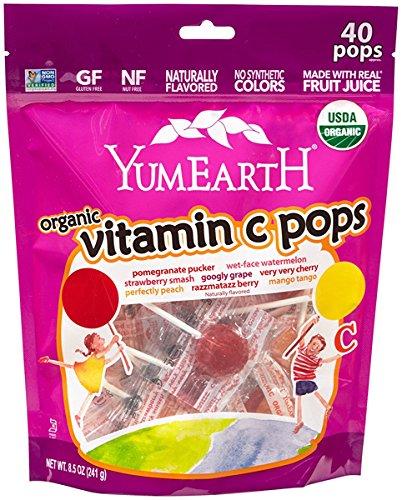 (Organic Vitamin C Pops 8.5 Ounce (241 g) Pkg)