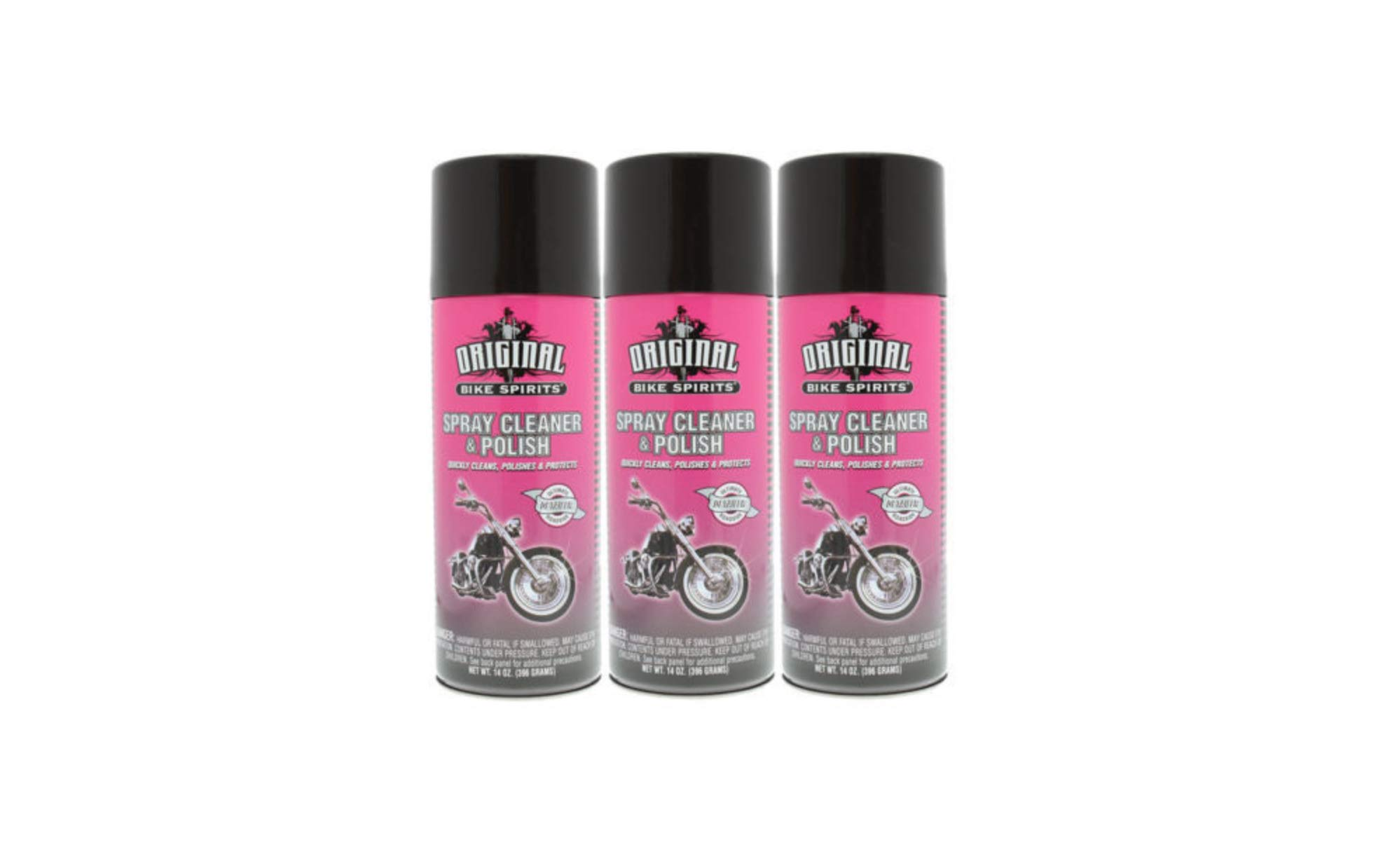 Original Bike Spirits Spray Cleaner & Polish 14 oz Can - 1039615 - Qty (3)