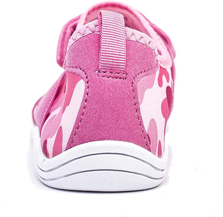 VAMV Water Shoes for Kids Boys Girls Beach Swim Shoes Slip On Aqua Sock /¡/ 2 M US Big Kid, 05Pink34