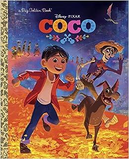 Coco Big Golden Book Disney Pixar Coco Malin Alegria