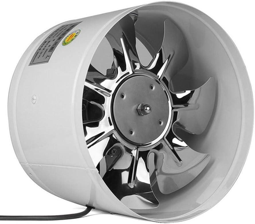 Majome 4inch/6inch conducto Inline Ventilador Booster Extractor de Aire refrigeración ventilar Hojas metálicas
