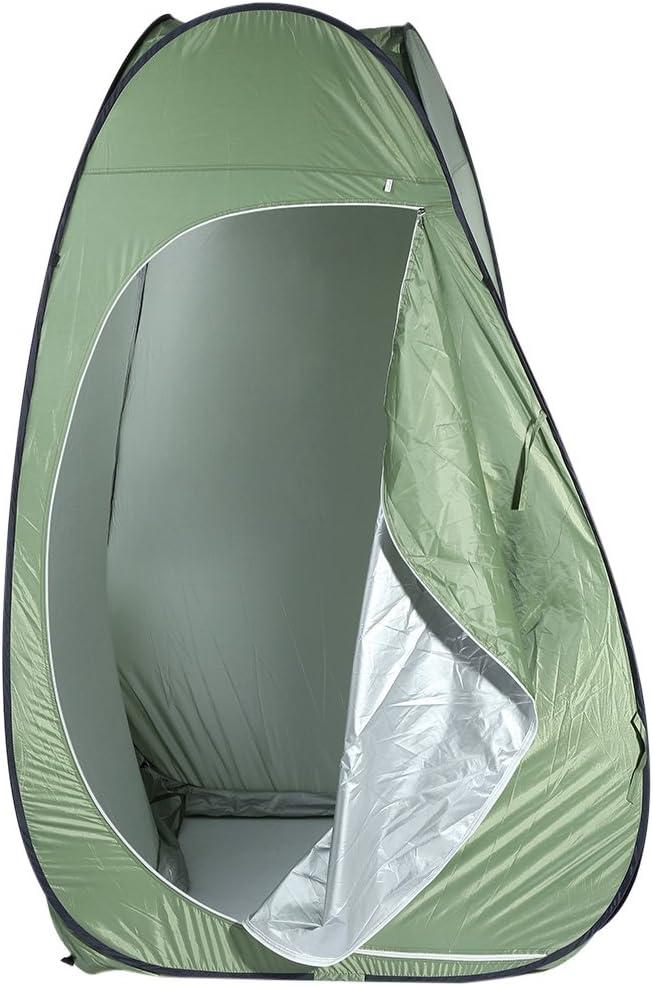 /Toldos de vestuario ba/ño tabern/áculo refugio para inodoro para actividades al aire libre Resistente al agua Camping ducha ba/ño tienda/