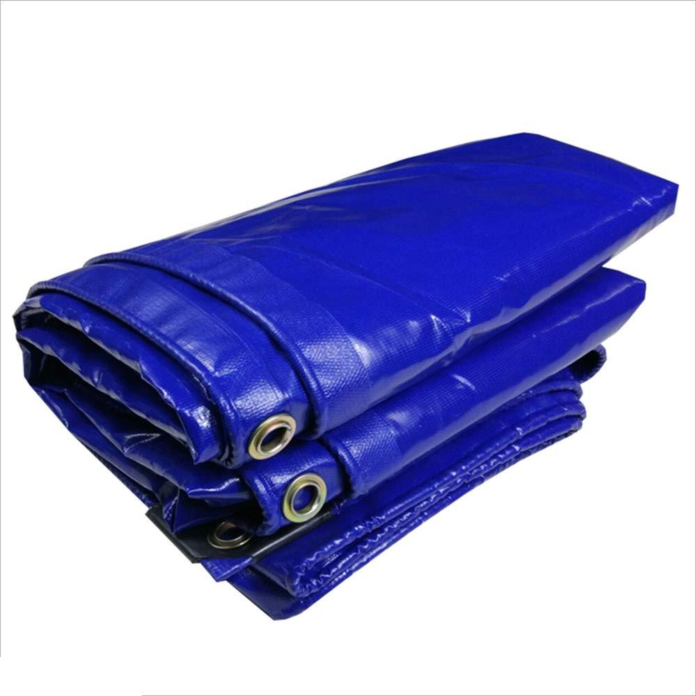 ParksonTents Heavy Duty Tarpaulin Tent Tarpaulin 100% Waterproof and UV Resistant High Density Woven Double Laminated Polyethylene bluee ++