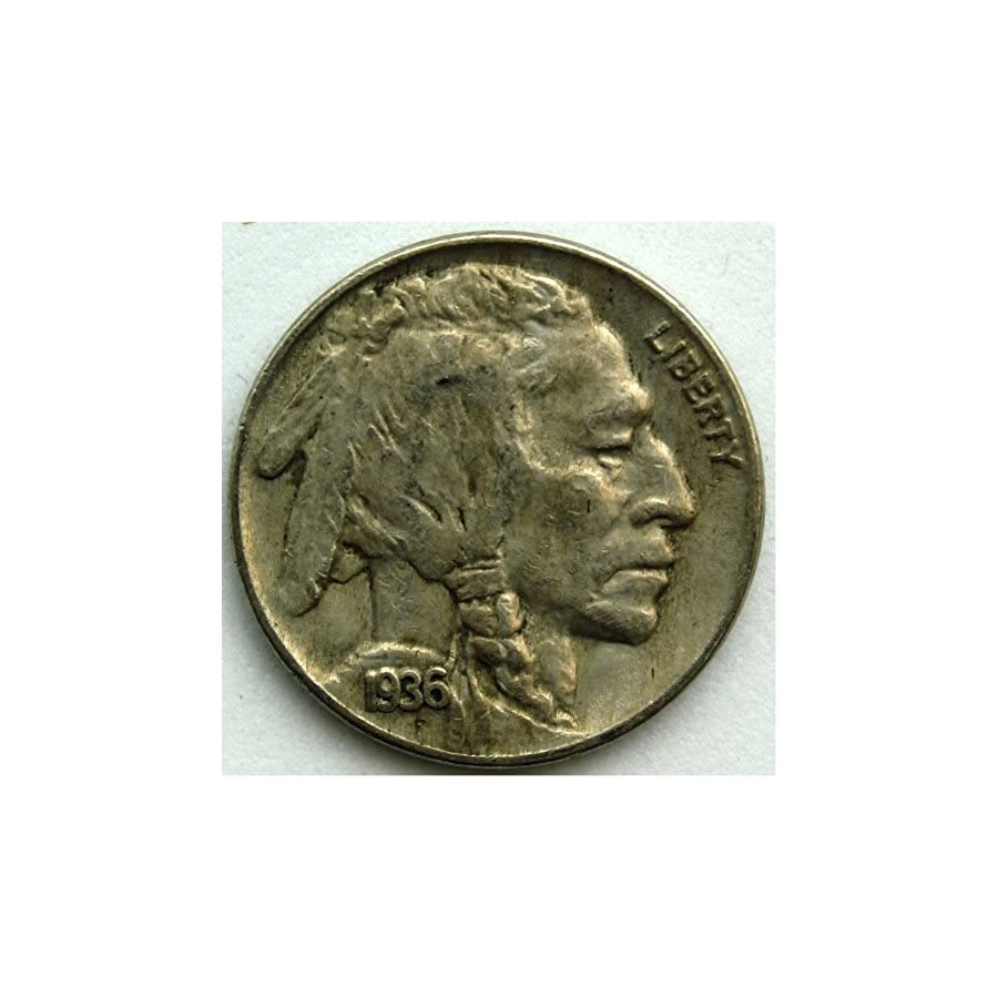 1936 Buffalo Nickel VF 20