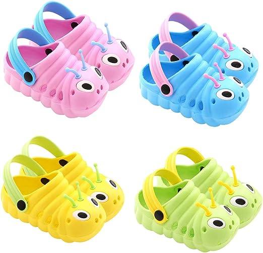Summer Toddler Baby Kids Boy Girl Cute Cartoon Beach Sandals Slippers Flip Shoes