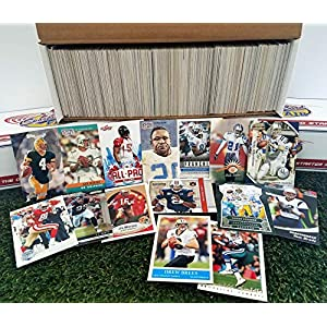 600 card Jumbo lot of Football cards Starter kit with Guaranteed Superstars -1970's to present. Comes in Custom Souvenir Box- Great gift for the 1st time collectors! THANK YOU OVER 6,250 SOLD by 3bros