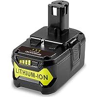 TREE.NB 18V 5000 mAh Battery for Ryobi One+ RB18L50 BPL-1815 BPL-1820G BPL1820 BPL18151 P102 P103 P104 P105 P106 P107…