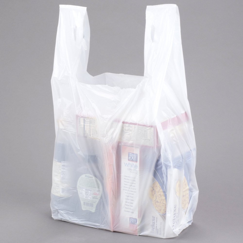 Black t shirt carryout bags 1000 ct - Amazon Com Large Plastic Grocery T Shirts Carry Out Bag Plain White 12 X 6 X 21 100ct Kitchen Dining