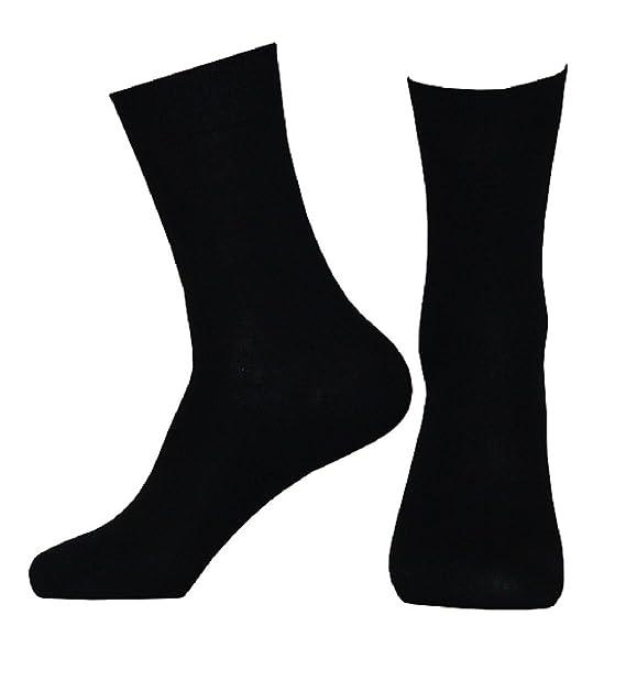 Unbekannt 10 pares Business de calcetines para mujer de blanco o negro de algodón 100% de Art of Baan: Amazon.es: Ropa y accesorios