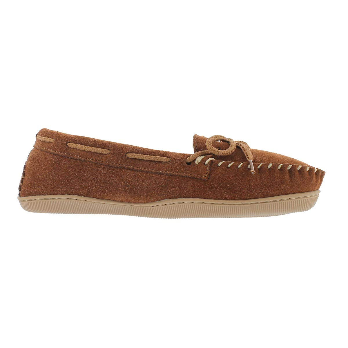 SoftMoc Womens Delphi Lined Ballerina Moccasin Spice 7 M US