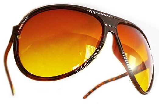 Amazon.com: Aviator anteojos de sol Sun bloqueador HD ...
