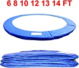Greenbay 6 8 10 12 13 14 FT Outdoor Trampoline Replacement Pad Safety Spring Cover Padding Safety Net Replacement Enclosure Surrounds Rain Cover Base Skirt Ladder Outdoor Trampoline Accessory