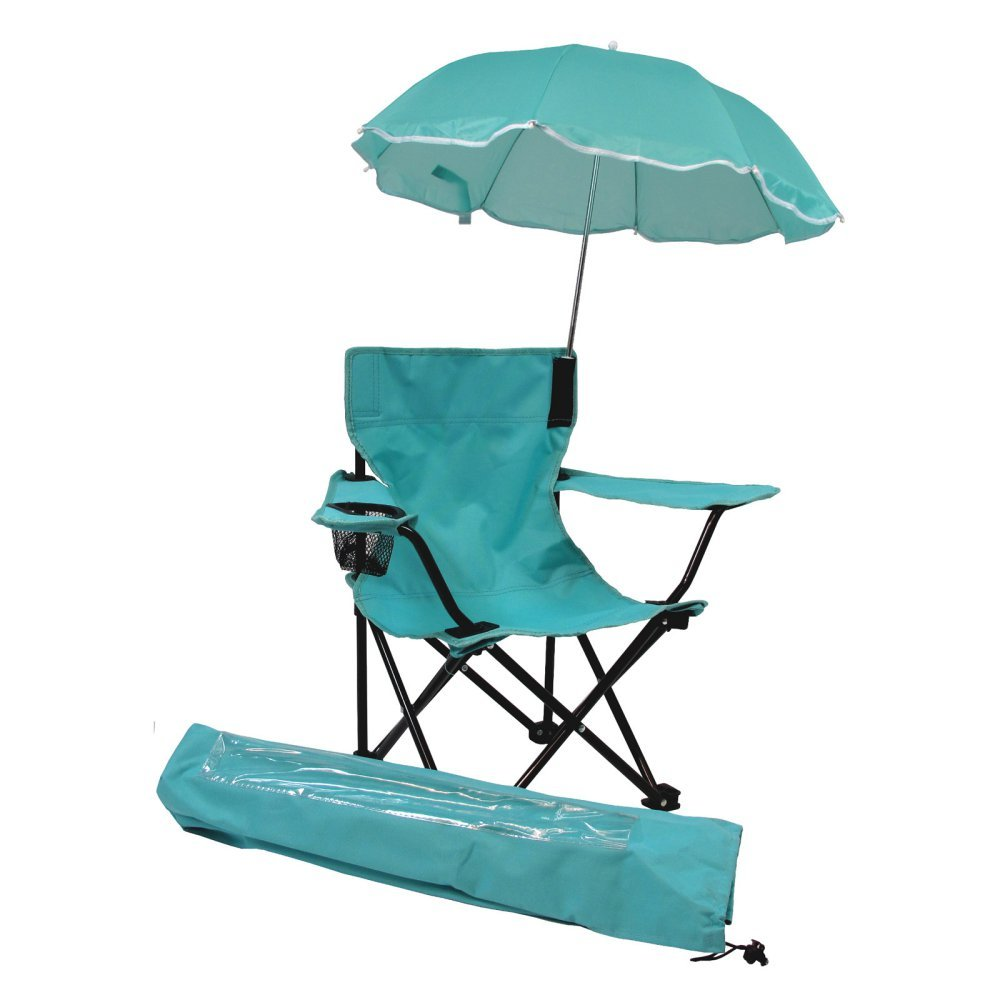 Redmon For Kids Beach Baby ALL-SEASON Umbrella Chair with Matching Shoulder Bag, Aqua