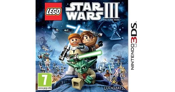 Lego Star Wars III: The Clone Wars (Nintendo 3DS) [Importación inglesa]: Amazon.es: Videojuegos