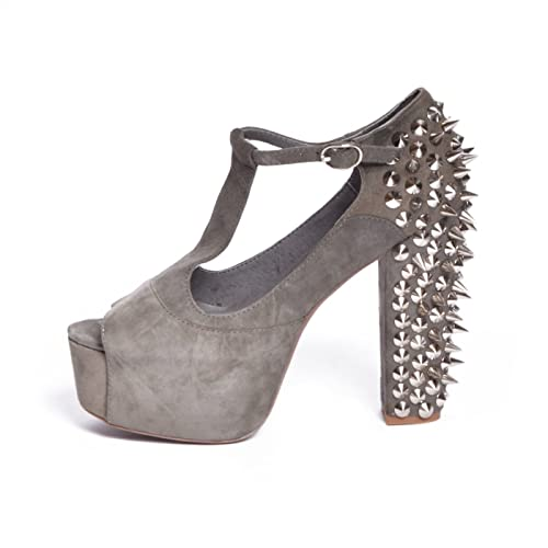 Zapatos grises Jeffrey Campbell para mujer FiElsR