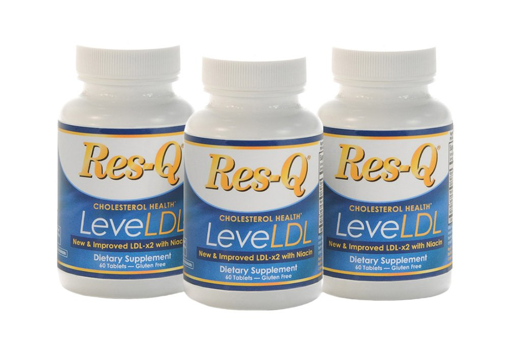 Res-Q LeveLDL with Niacin (formerly LDL-x2) 3-Pack